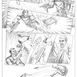 The Punisher Pencils 5