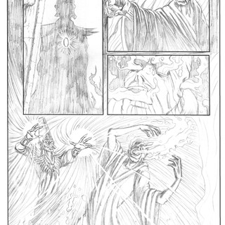 Red Sonja Pencils 2