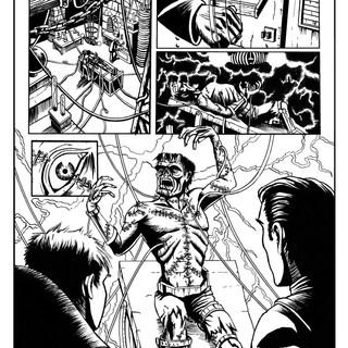 Frankenstein inks pg3