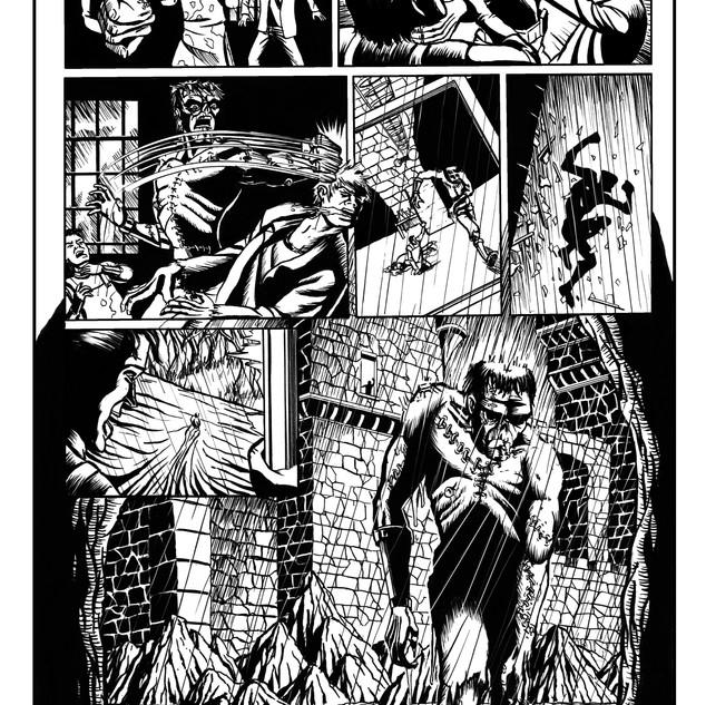 Frankenstein inks pg4