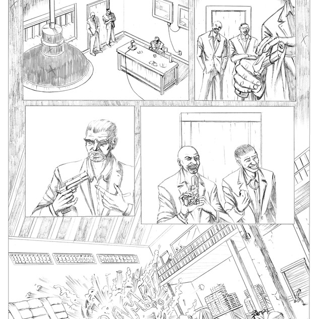 The Punisher Pencils 1