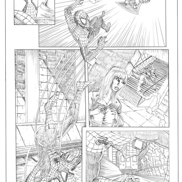 Spiderman Protection Pencils 3