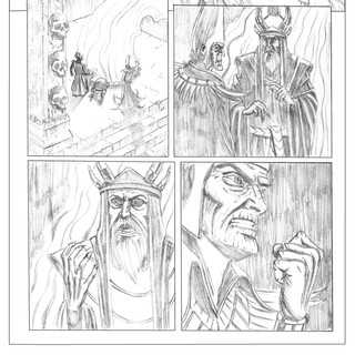 Red Sonja Pencils 3