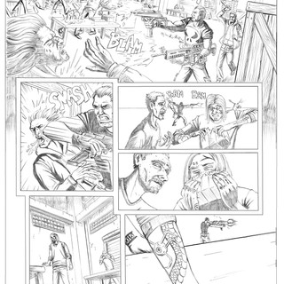 The Punisher Pencils 4