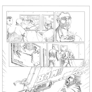 The Punisher Pencils 2