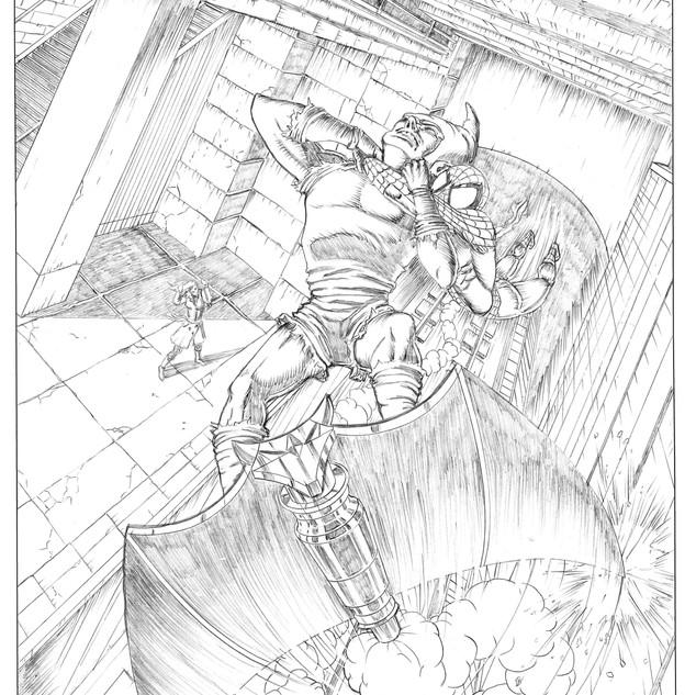 Spiderman Protection Pencils 2