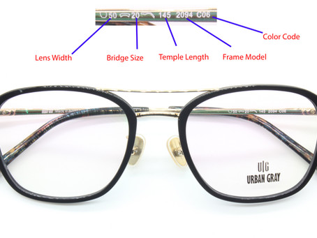55x18? 49x16? 62x20? Its not 4D lucky number yeah.What do the numbers on your eyeglass frames mean?