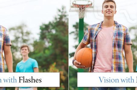 Common Eye Symptoms - Eye Flashes