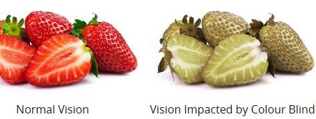 Common Eye Symptoms - Colour Blindness