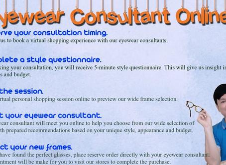 Eyewear Consultant Online