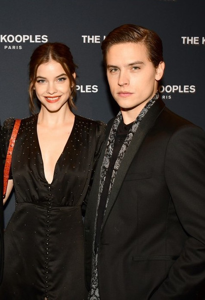Dylan Sprouse & Barbara Palvin - The Kooples Night