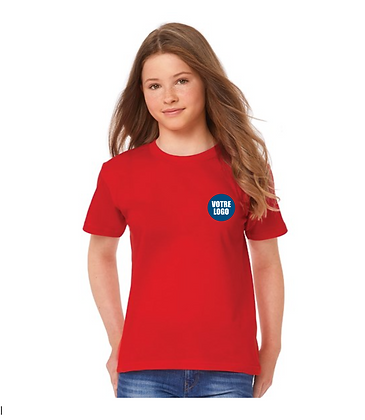 T-shirt couleur ENFANT - Logo coeur