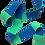 Thumbnail: Rouleau ceinture Verte/Bleue Judo