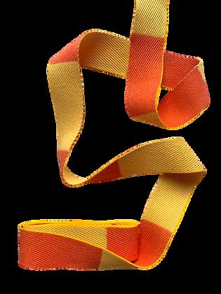 Rouleau ceinture Jaune/Orange Judo