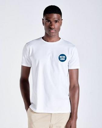 T-shirt blanc ADULTE - Logo coeur