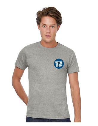 T-shirt couleur ADULTE - Logo coeur