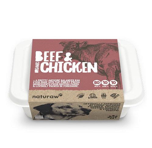 NR Beef & Chicken Organic 500g