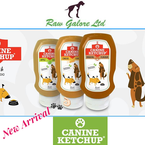 Canine Ketchup 1 bottle
