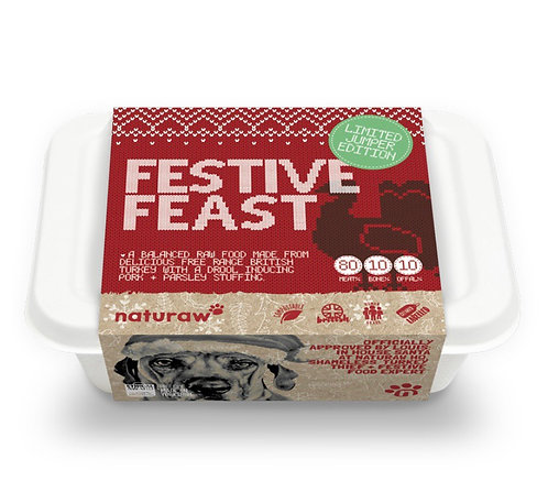 NR FESTIVE – TURKEY, PORK & PARSLEY 500g