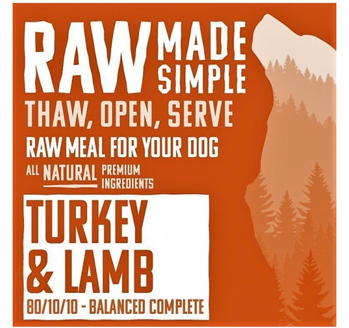 RMS Tripe Free Turkey And Lamb Complete