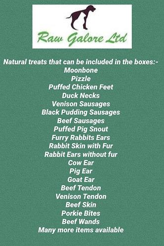Medium Natural Treat Box