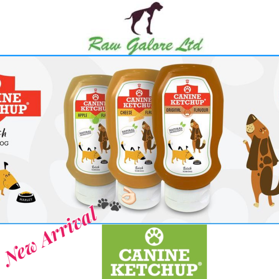 Introducing Canine Ketchup......