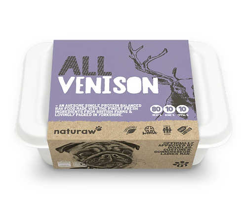 Naturaw All Venison 500g