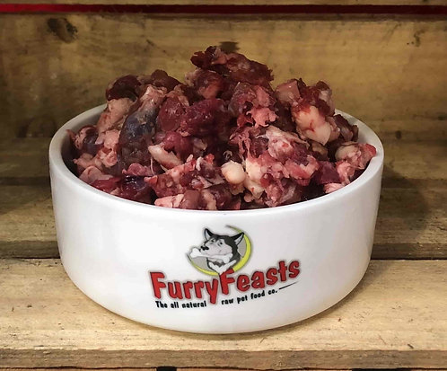 Furry Feasts Complete Beef 80/10/10 500g