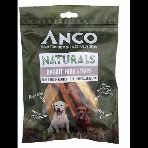 Anco Naturals Rabbit Hide Strips 100g
