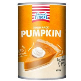 Tinned Purée Pumpkin Fat Free 425g