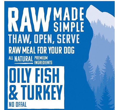 RMS Oily Fish and Turkey Complete Mix
