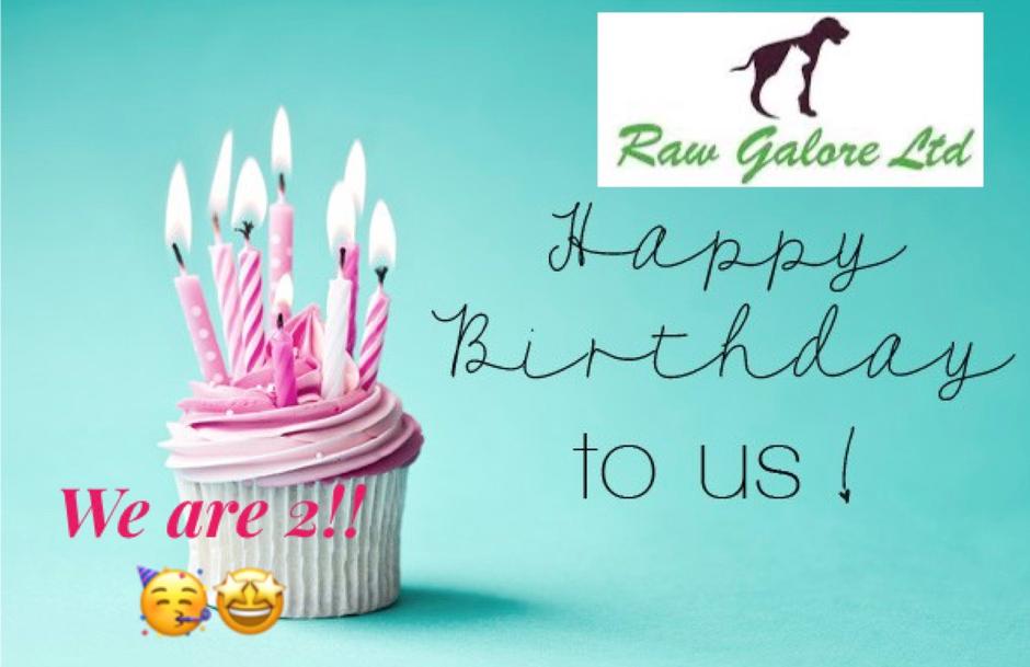 Happy Birthday to us.....