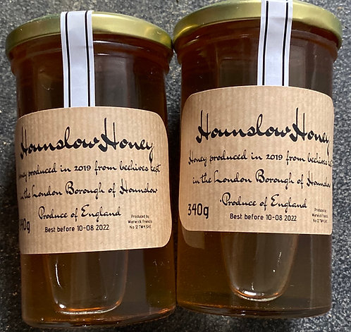 Raw Local Honey 350ml Hatton Road Honey