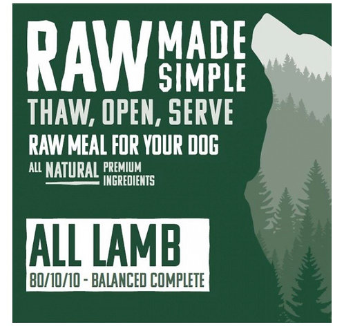 RMS Whole Lamb With Bone Complete Mix 500g