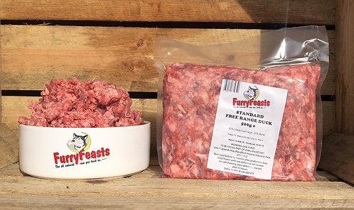 Furry Feasts Standard Duck Mince 1kg