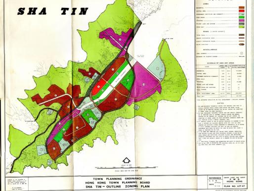 3. Sha Tin Outline Zoning Plan