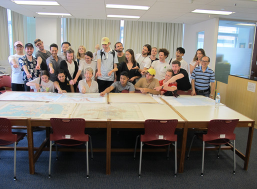Visit of University of Technology Sydney Landscape Architecture Students