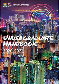Undergraduate handbook [2020-2021] cover