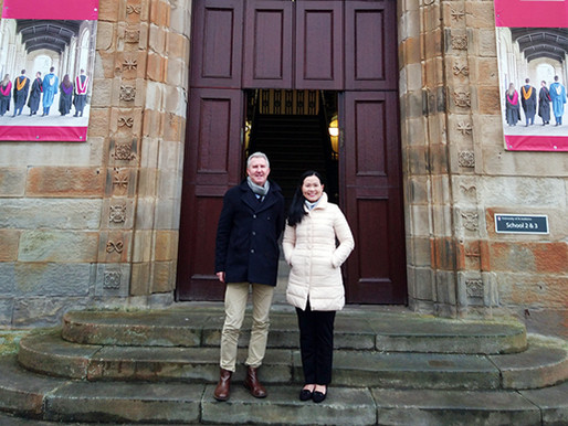Professor Becky Loo visited the University of St Andrews in December 2019