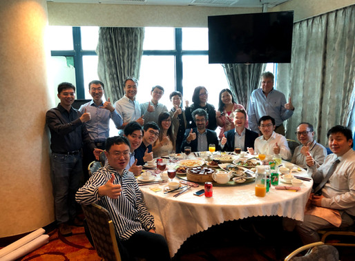 HKU Geography at the 50th Anniversary Luncheon of Hong Kong Geographical Association