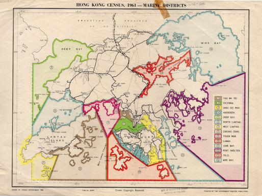 9. Hong Kong Census, 1961-Marine Districts