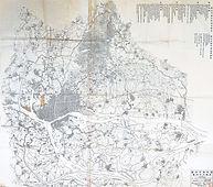 廣州巿區域圖; 廣州巿工務局 [Natural scale 1:25,500 ; 1923]