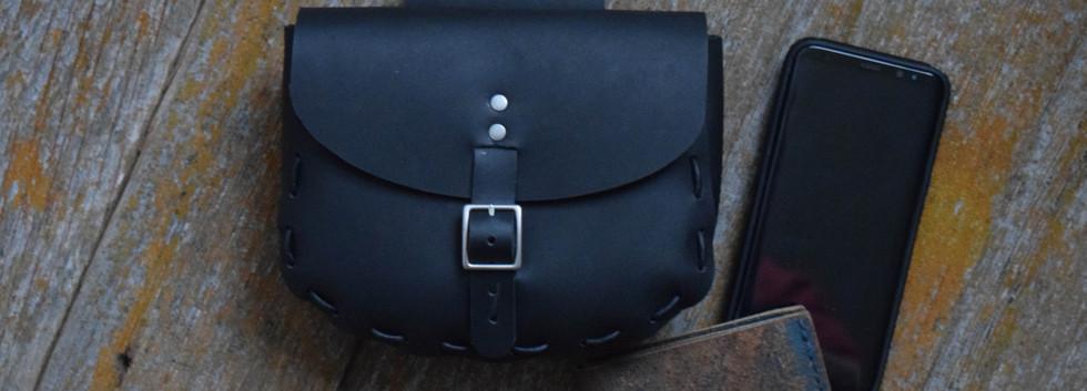 671 - Large Belt Pouch - Matte Black 01.