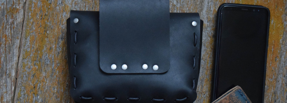 670 - Medium Belt Pouch - Matte Black 03