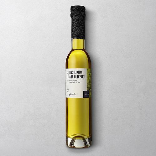 Basilikum auf Olivenöl | Wajos 100ml