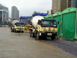 Largest Concrete Pouring Operation in Korea in less than 3 Days!