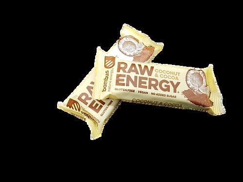 Bombus Raw Energy Riegel Coconut & Cocoa 50g