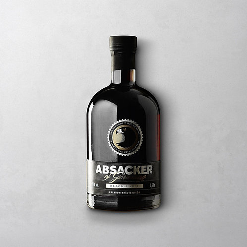Absacker BLACK EDITION | Wajos 500ml, 28% Vol.