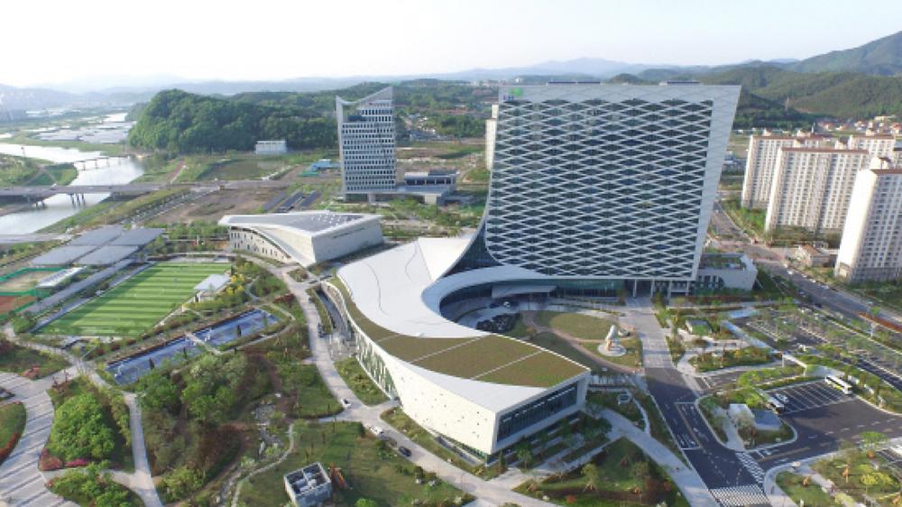 LH New Headquarters Building in Jinju, South Korea.