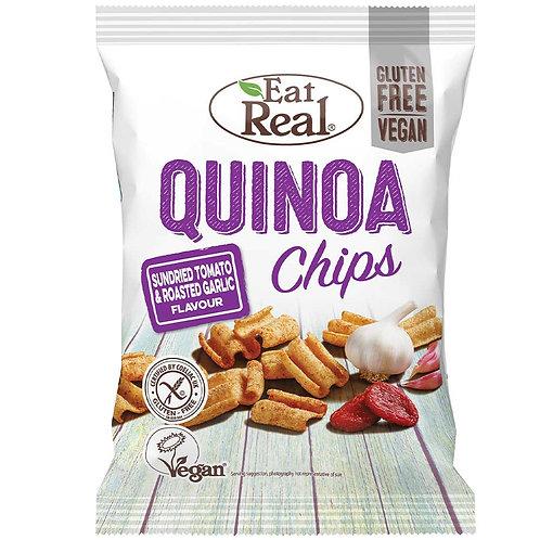 Quinoa Chips Tomate & Knoblauch 24g